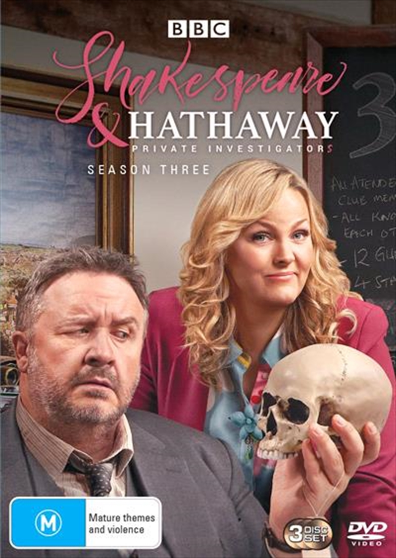 Shakespeare and Hathaway - Private Investigators - Series 3   DVD