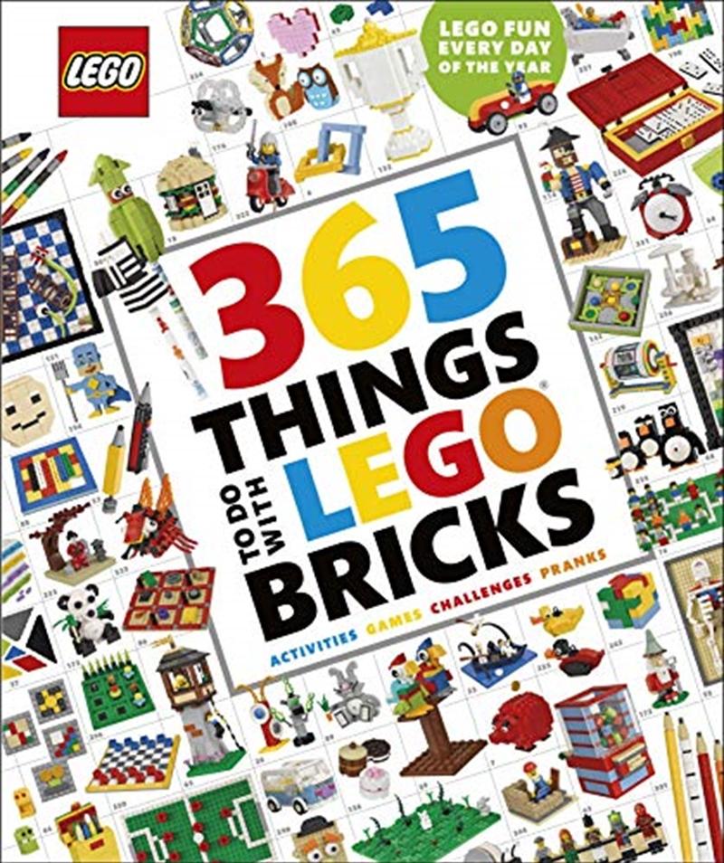 365 Things to Do with LEGO® Bricks | Hardback Book