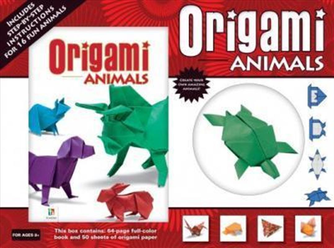 Origami Animals Landscape Box | Merchandise