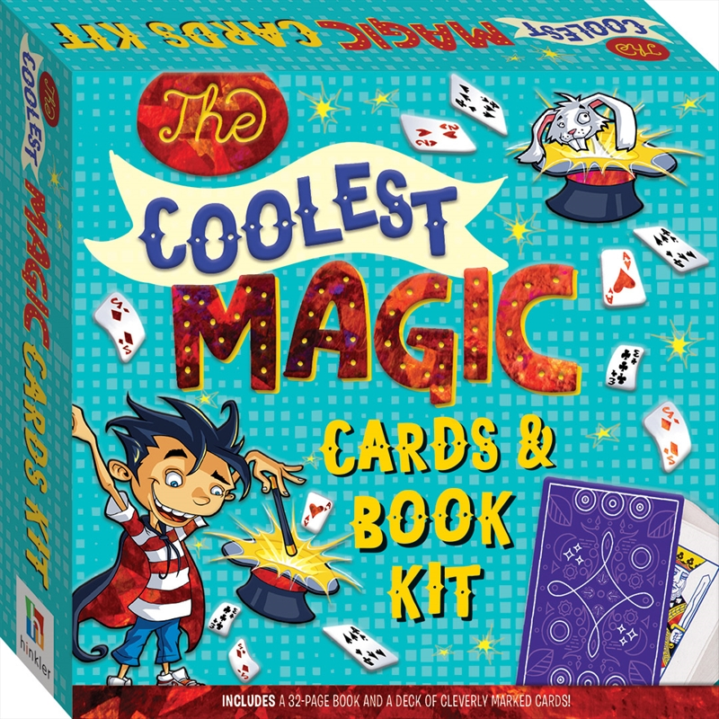 Coolest Magic Cards and Book Kit | Merchandise