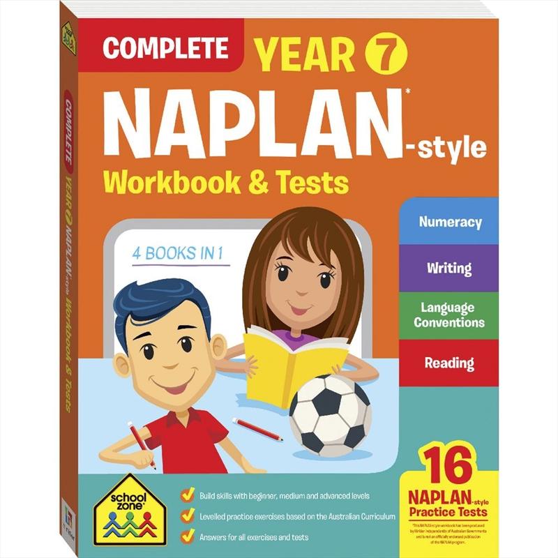 Naplan Style: Year 7 Bind Up | Paperback Book