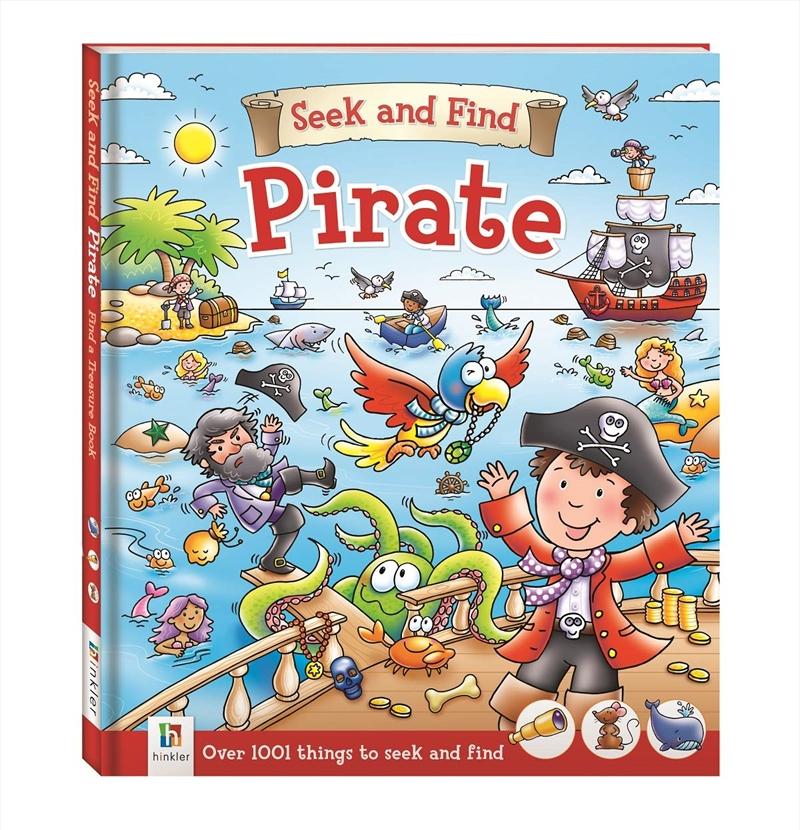 Seek And Find: Pirate | Paperback Book