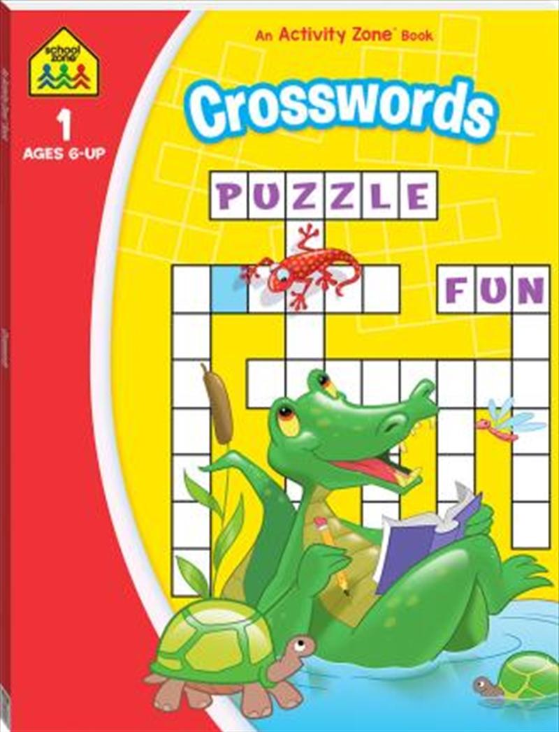 School Zone: Crosswords Activity Book (2020) | Paperback Book