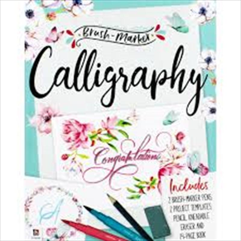 Brush-Marker Calligraphy Kit (Small Format) | Merchandise