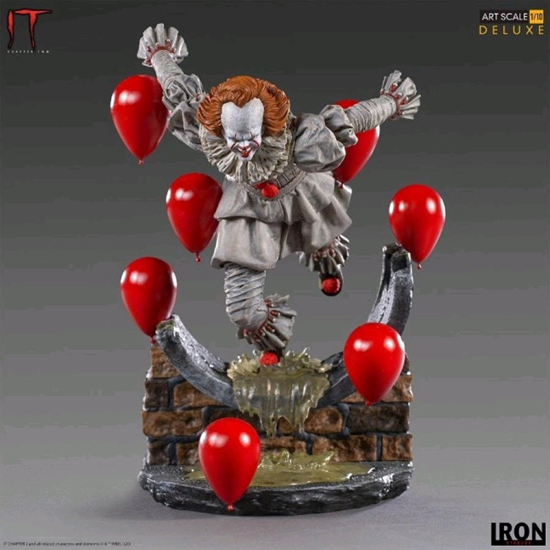 It Chapter 2 - Pennywise Deluxe 1:10 Scale Statue | Merchandise
