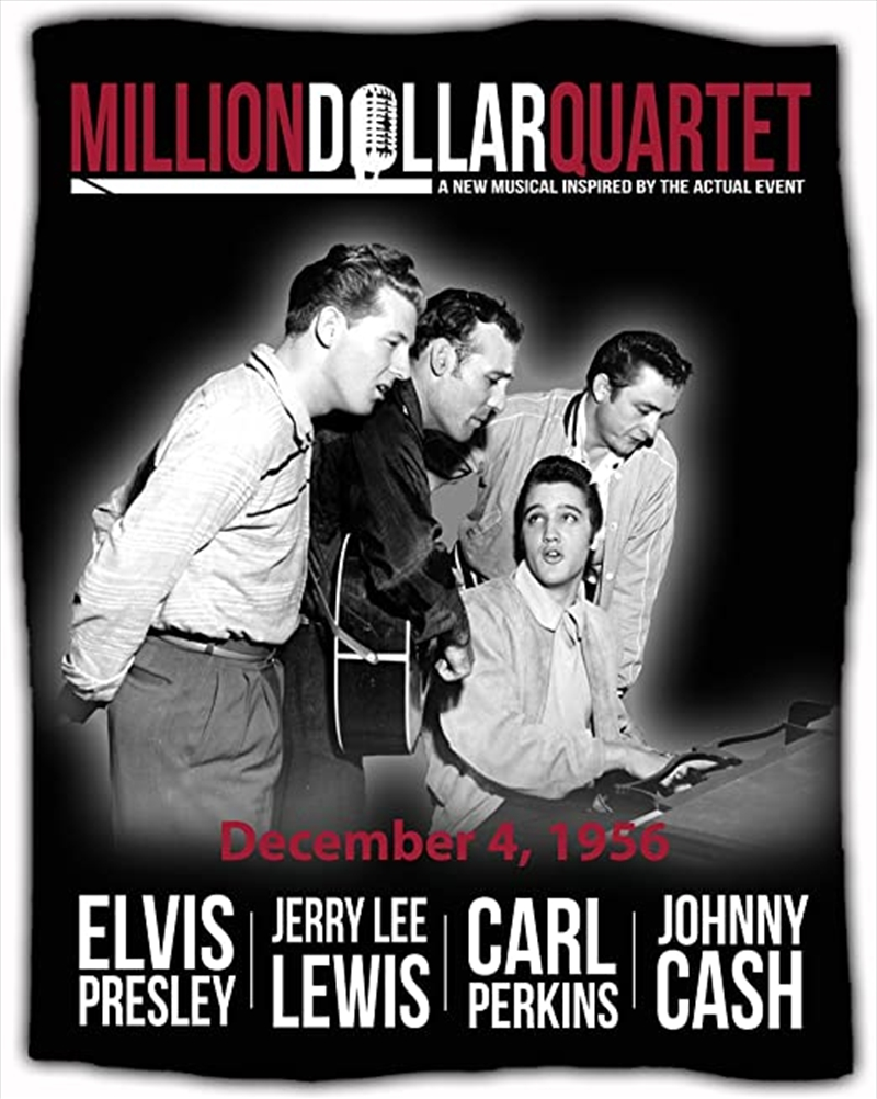 Million Dollar Quartet Throw | Merchandise