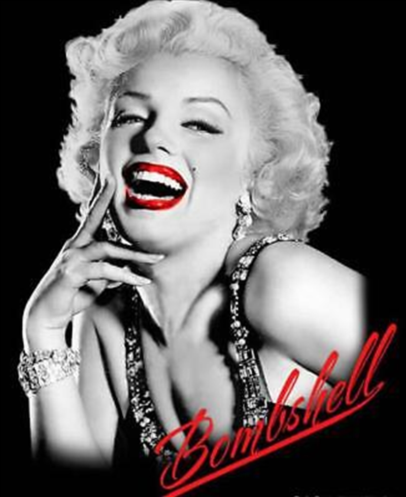 Marilyn Throw Bombshell Throw Blanket | Merchandise