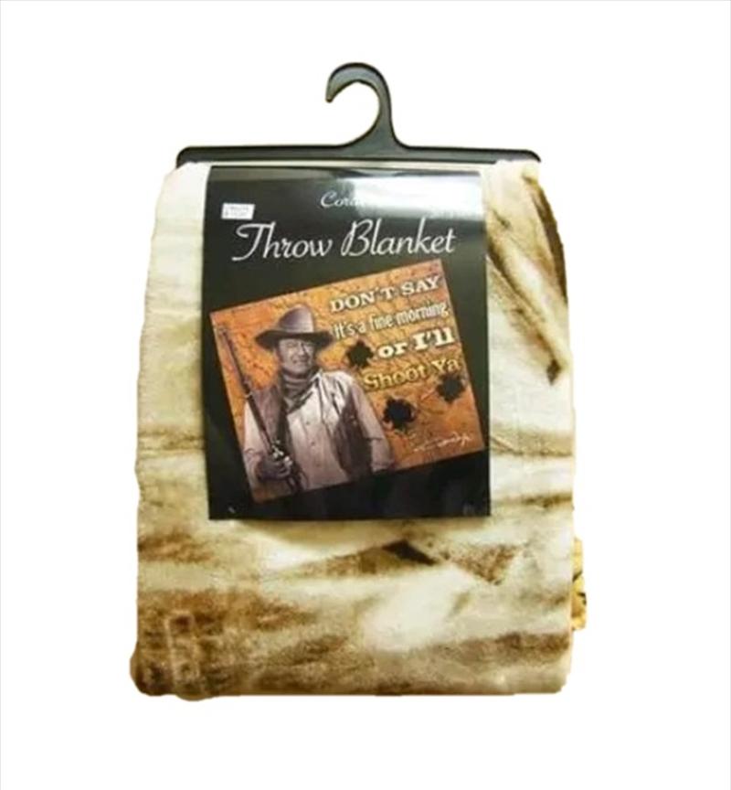 John Wayne Throw Shoot You | Merchandise