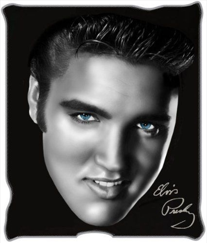 Elvis Throw Close Up | Merchandise