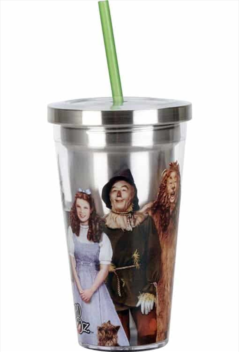 Wizard of Oz - Cup With Straw | Merchandise
