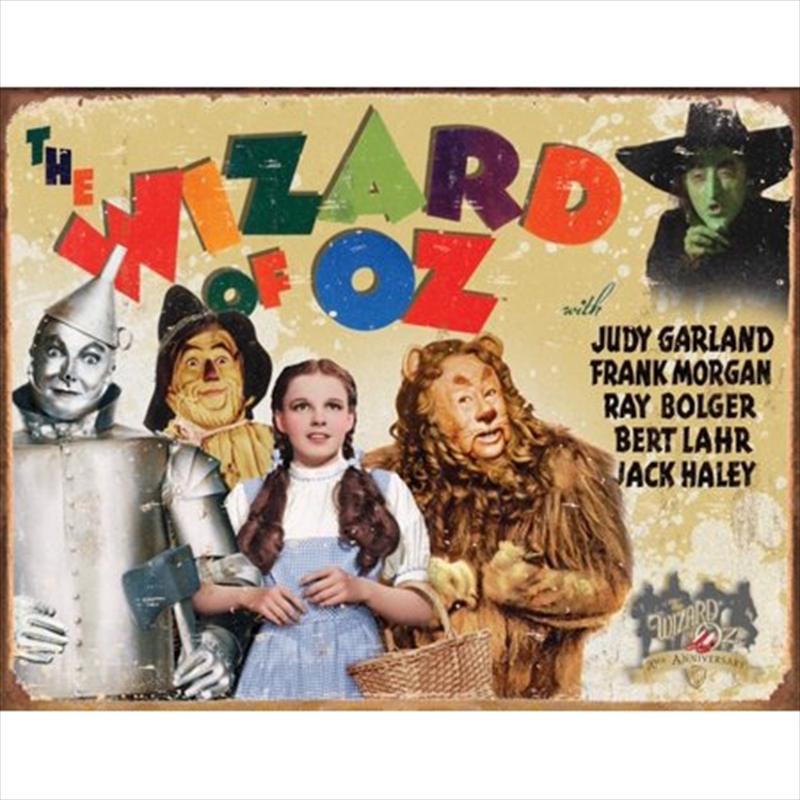 Wizard Of Oz Landscape Sign | Merchandise