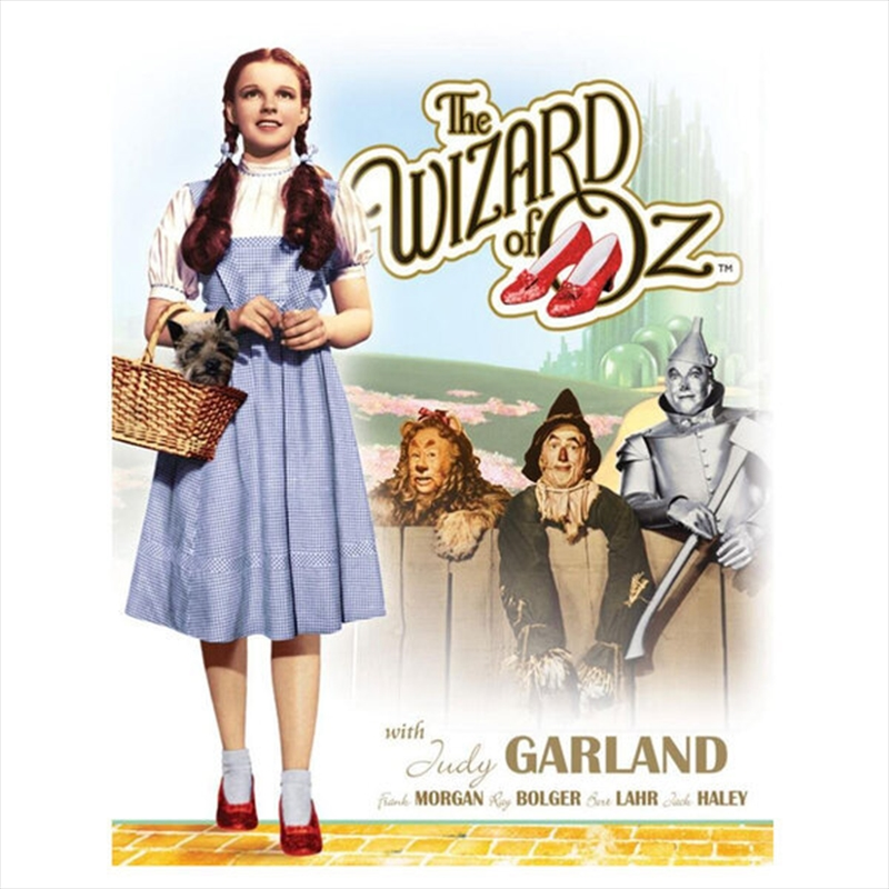 Wizard Of Oz Portrait Tin Sign | Merchandise