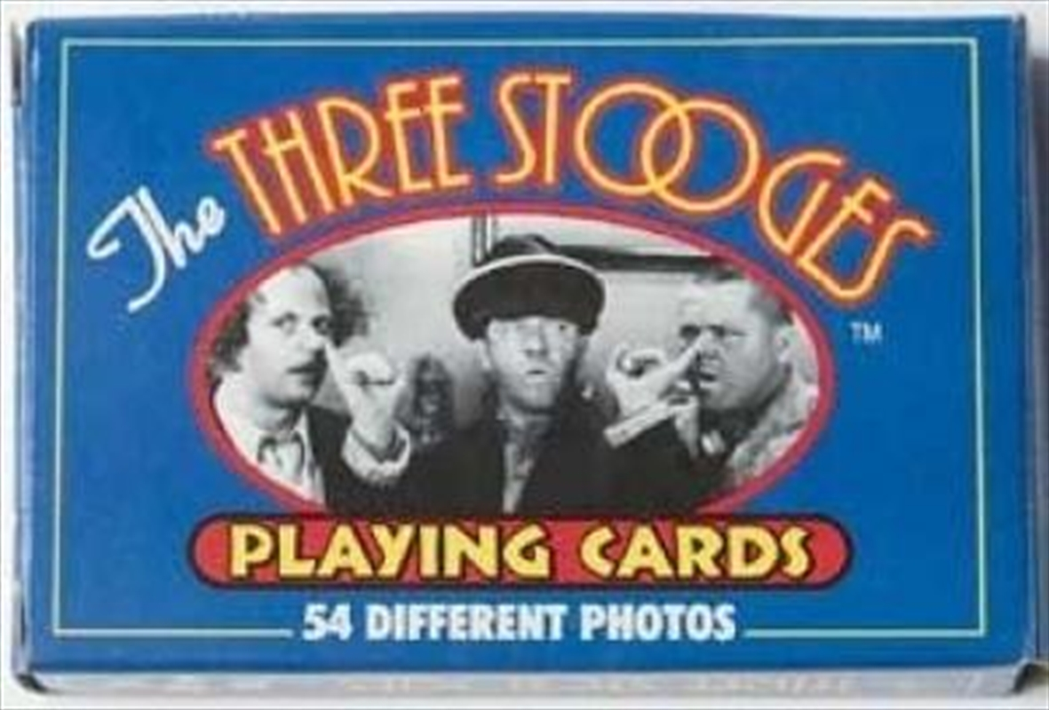 3 Stooges Playing Cards | Merchandise