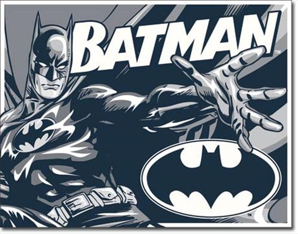 Batman Duotone Tin Sign | Merchandise