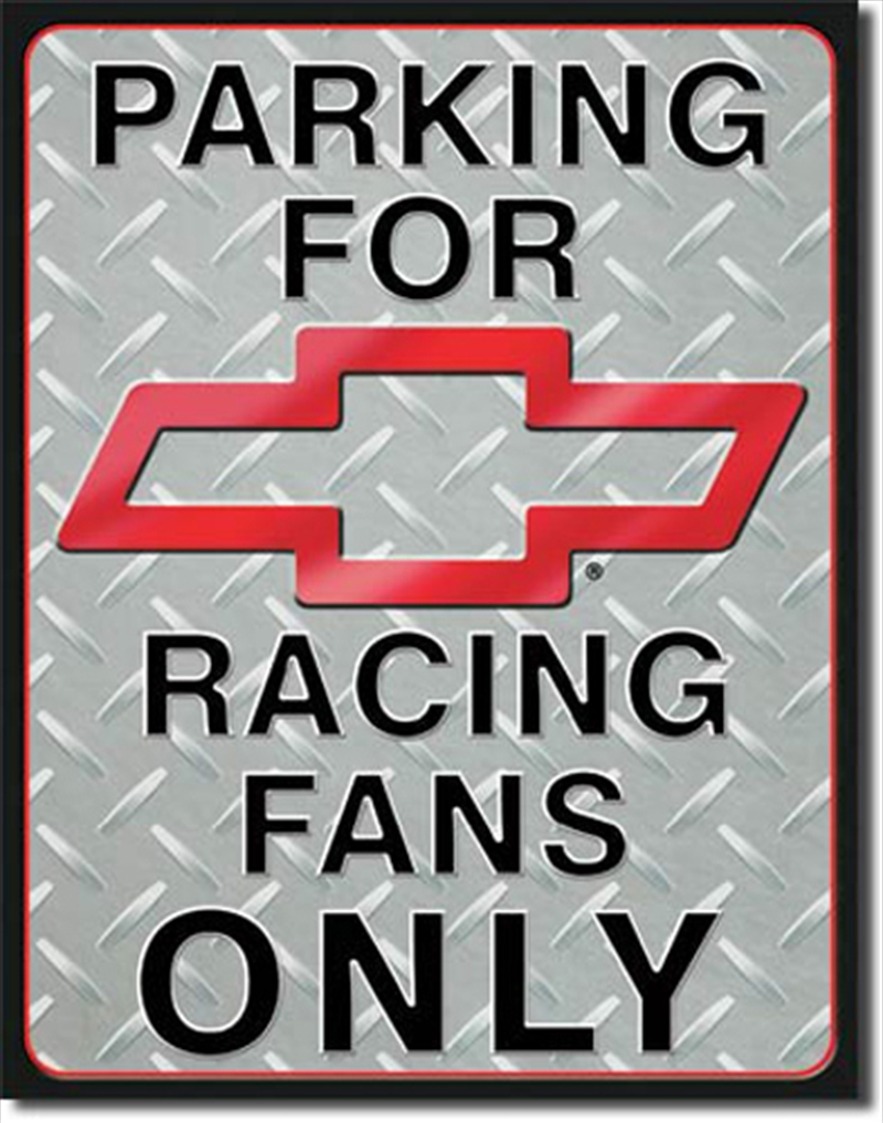 Chevy Racing Parking | Merchandise