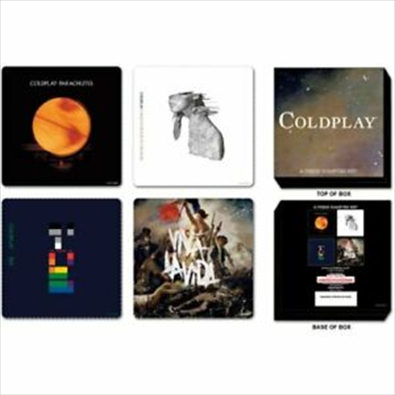 Coldplay Coaster Set | Merchandise