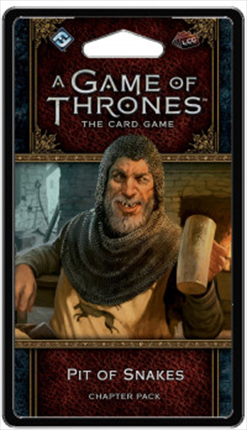 A Game of Thrones LCG - Pit of Snakes Chapter Pack   Merchandise