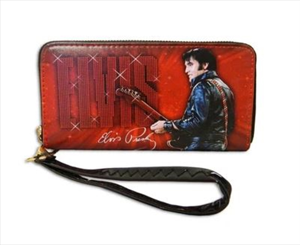 Elvis Wallet With Zipper   Merchandise