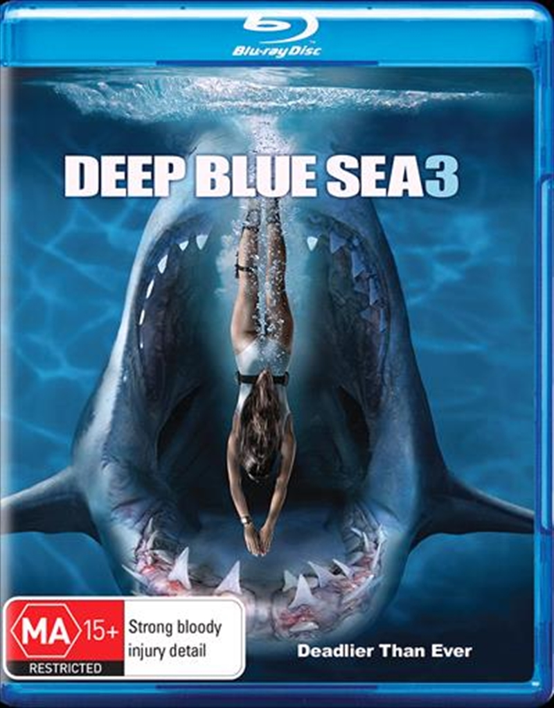Deep Blue Sea 3 | Blu-ray