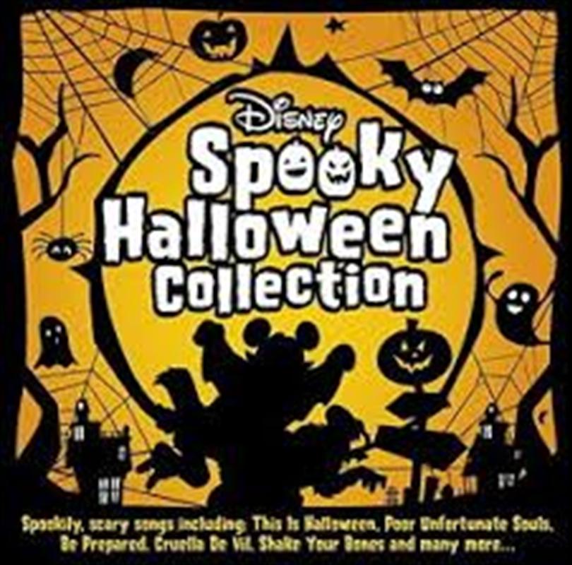 Disney Spooky Halloween Collection   CD