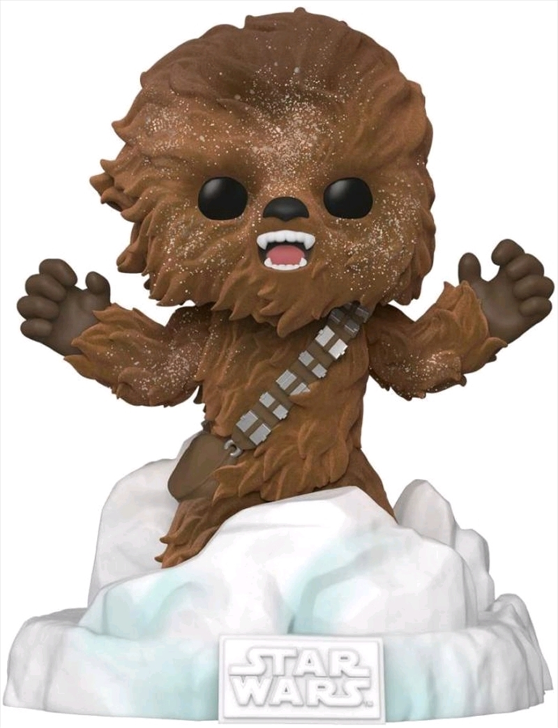 Star Wars - Chewbacca Flocked US Exclusive Pop! Deluxe Diorama [RS] | Pop Vinyl