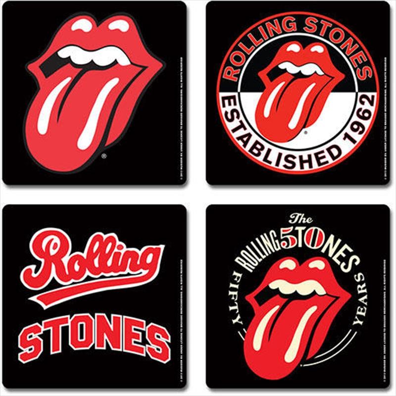 Rolling Stones Coaster Set: Icons | Merchandise