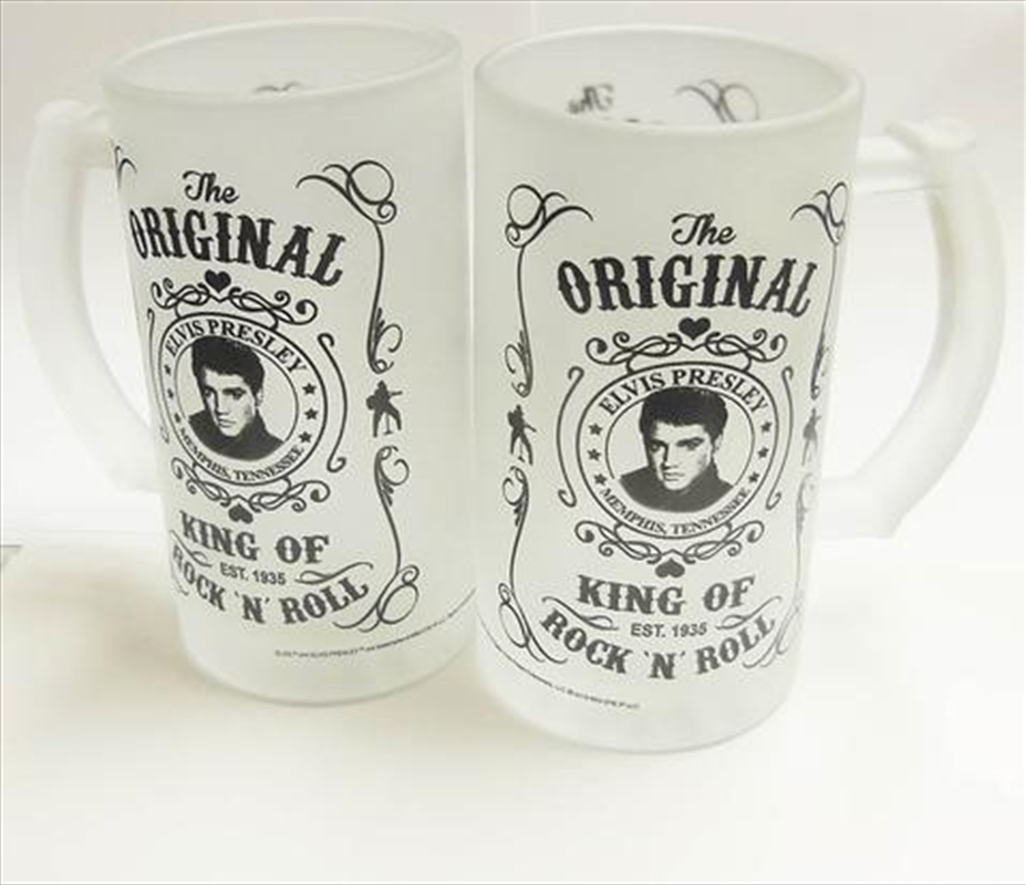 Elvis Stein Black and White - 16 Oz Set of 2 | Merchandise