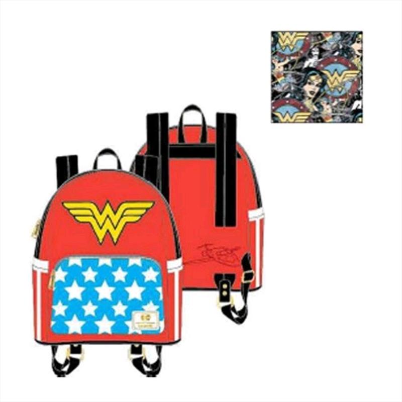 Wonder Woman - Vintage Mini Backpack   Apparel