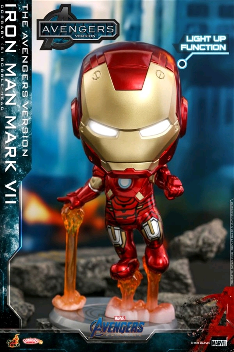 Avengers 4: Endgame - Iron Man Mark VII The Avengers Version Cosbaby | Merchandise