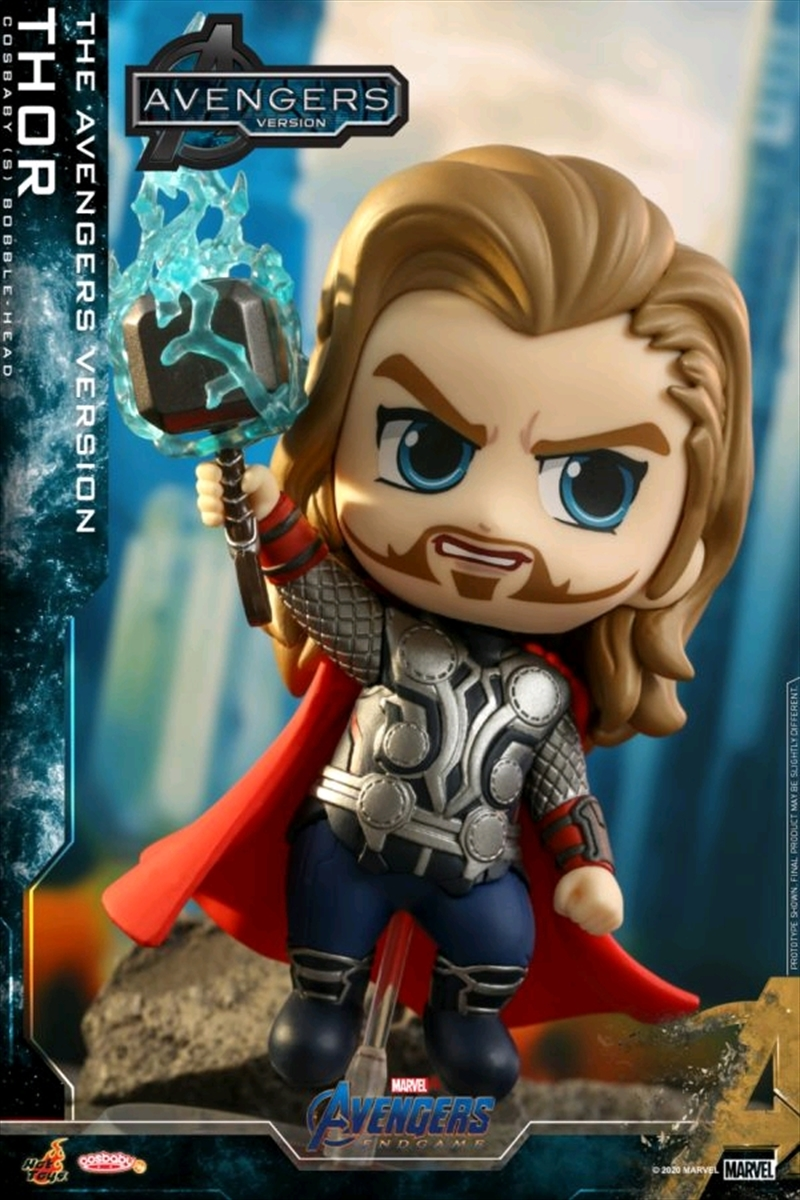 Avengers 4: Endgame - Thor UV The Avengers Version Cosbaby | Merchandise