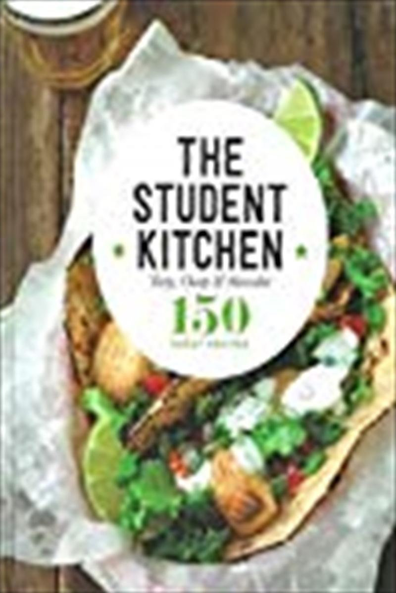 Student Kitchen Kitchen Cookbooks | Hardback Book