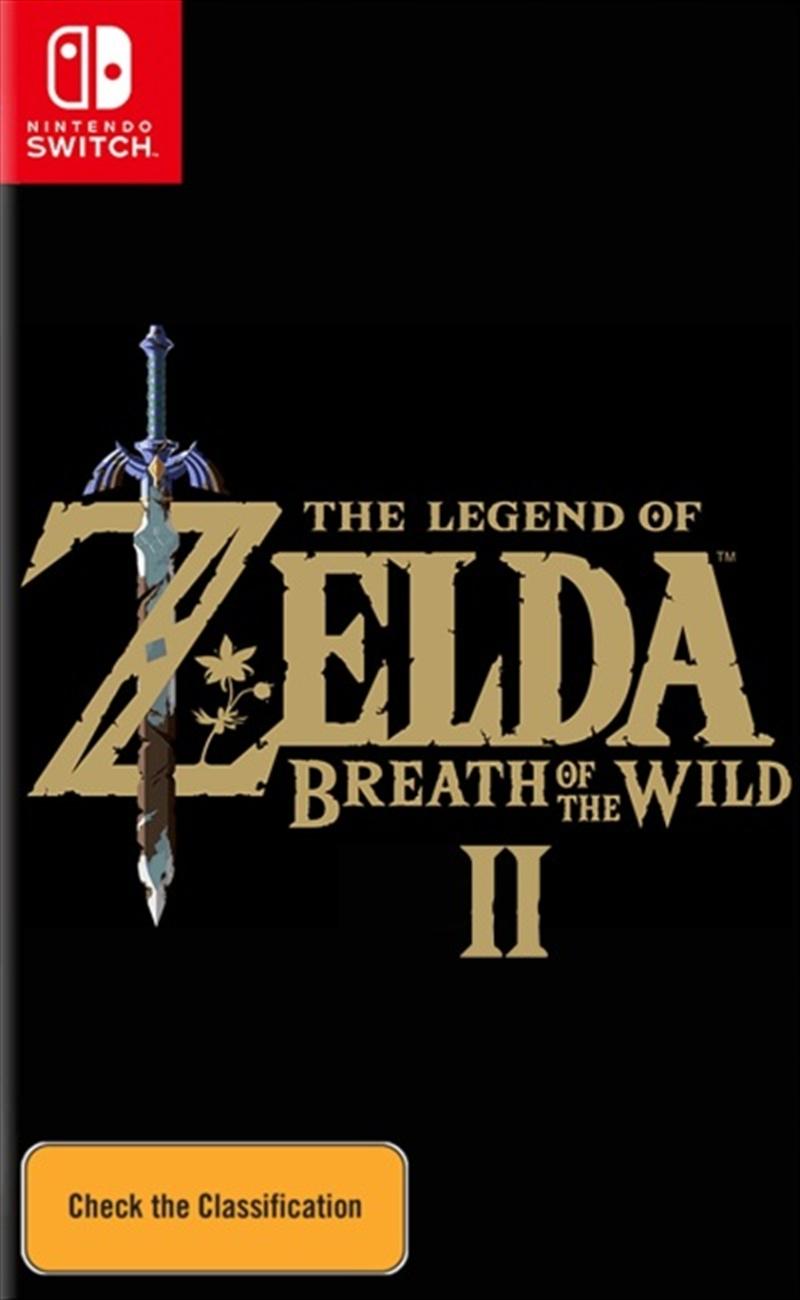 Legend Of Zelda  Breath Of The Wild 2 | Nintendo Switch