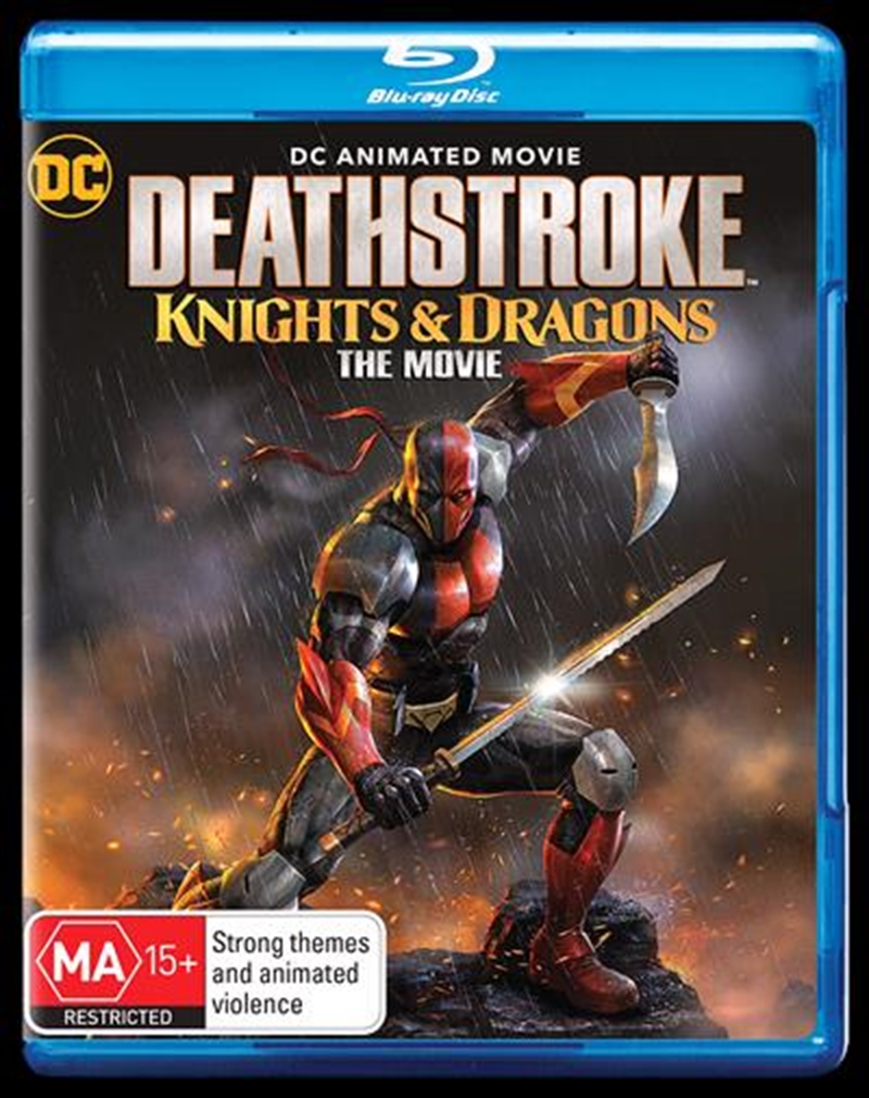 Deathstroke - Knights and Dragons   Blu-ray