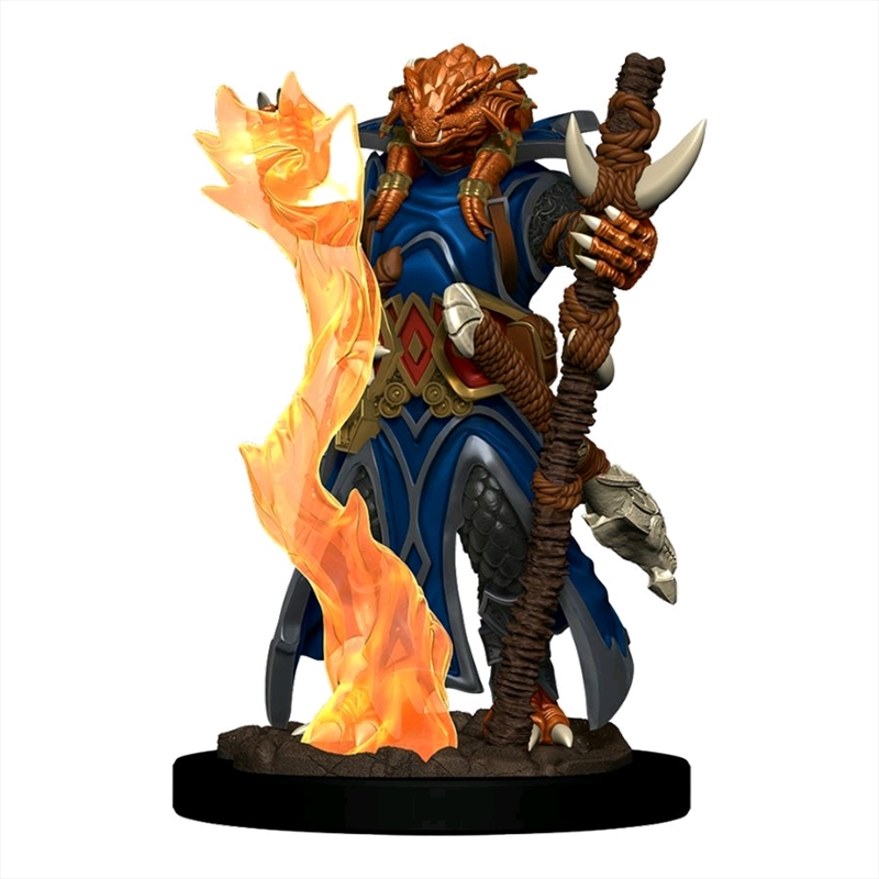 Dungeons & Dragons - Premium Dragonborn Sorcerer Female Miniature   Games