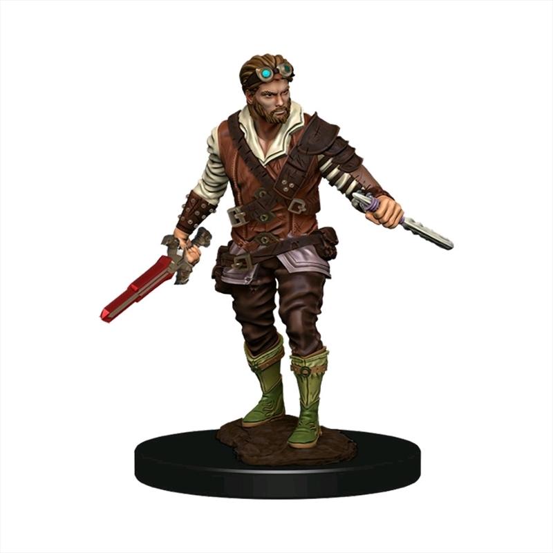 Dungeons & Dragons - Premium Human Rogue Male Miniature   Games