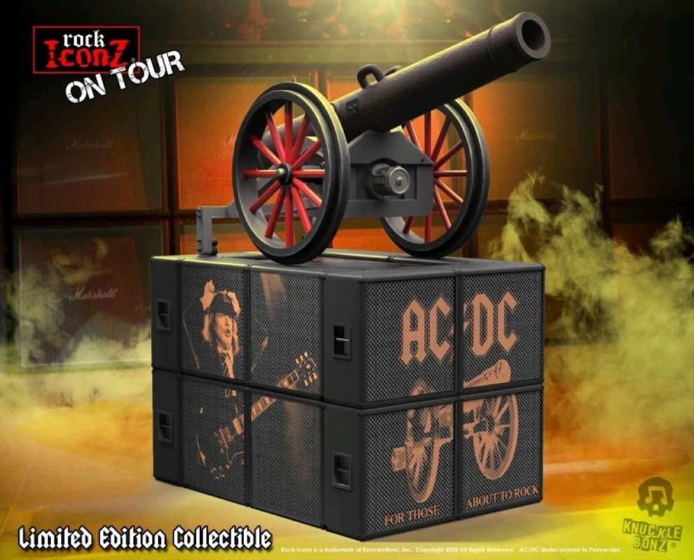 """AC/DC - Cannon """"For Those About To Rock"""" On Tour   Collectable"""