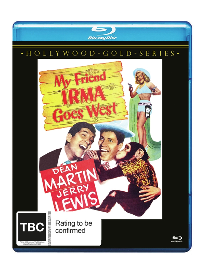 My Friend Irma Goes West | Blu-ray