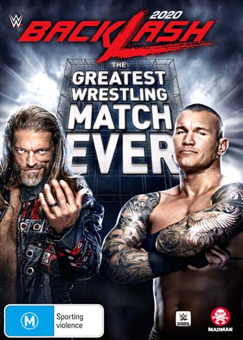 WWE - Backlash 2020   DVD