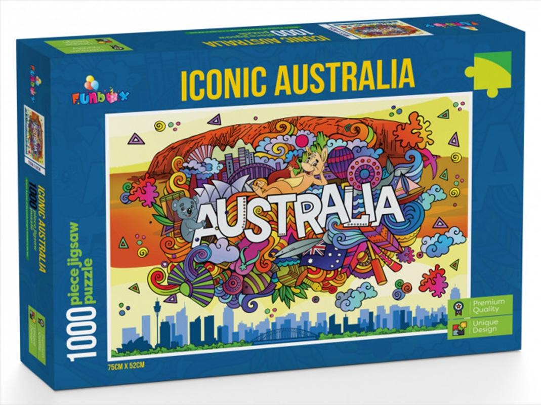 Iconic Australia Puzzle 1000 Pieces   Merchandise