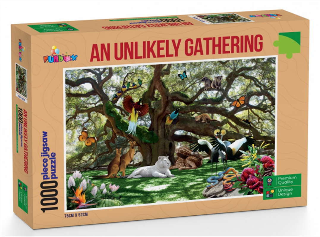 An Unlikely Gathering Puzzle 1000 Pieces   Merchandise