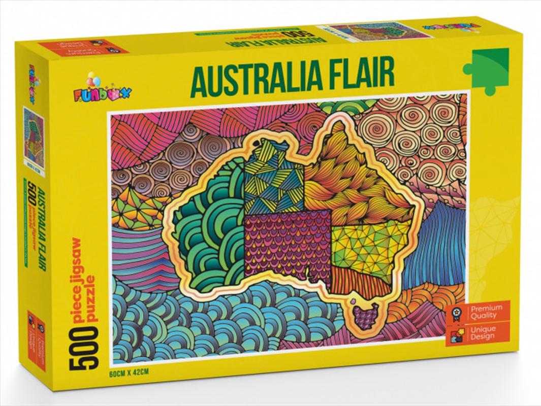 Australia Flair Puzzle 500 Pieces | Merchandise
