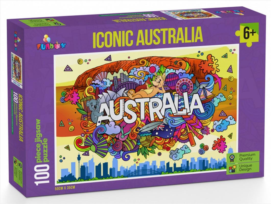 Iconic Australia Puzzle 100 Pieces | Merchandise