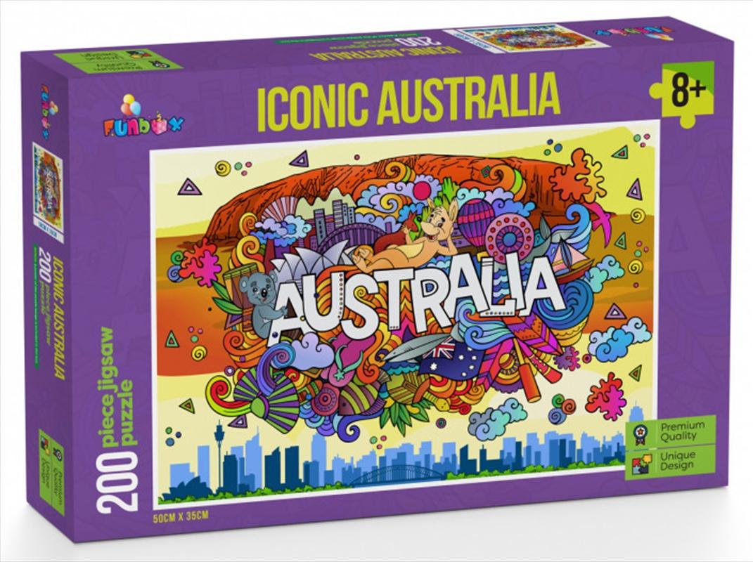 Iconic Australia Puzzle 200 Pieces | Merchandise