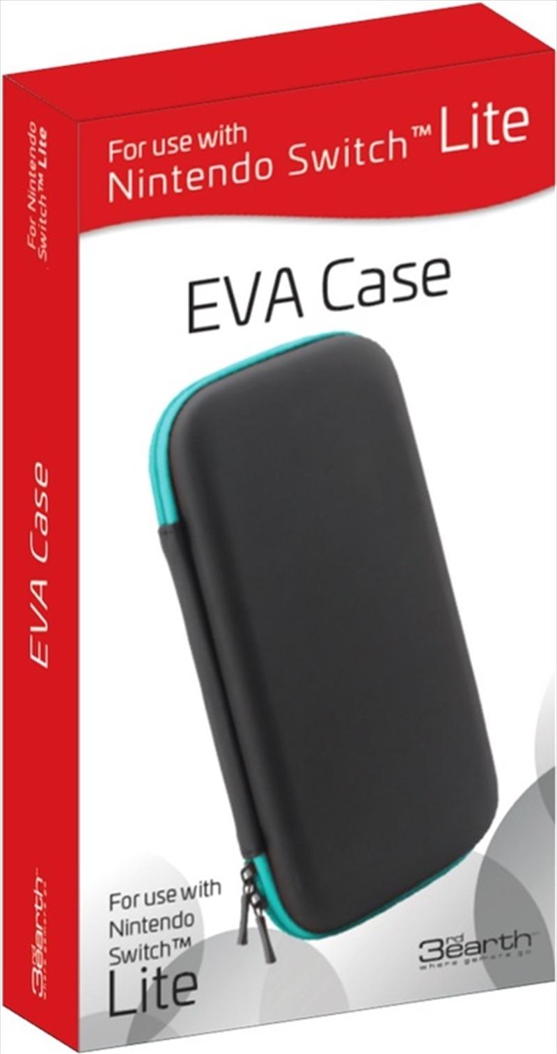 Eva Case Black/Turquoise Zip   Nintendo Switch