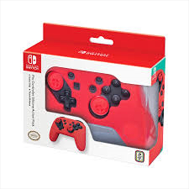 Pro Controller Action Grip Red | Nintendo Switch