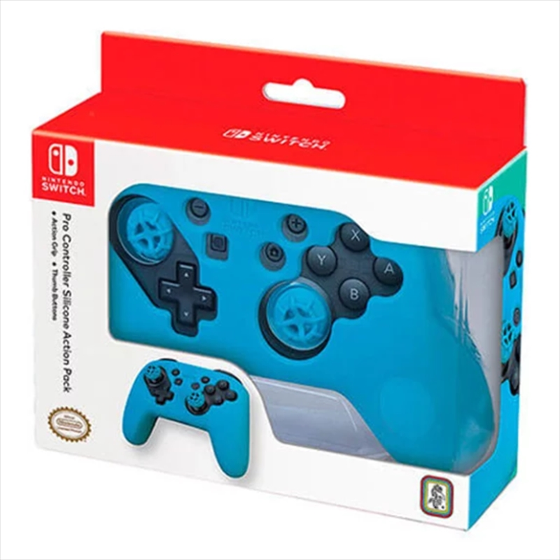 Pro Controller Action Grip Blue | Nintendo Switch