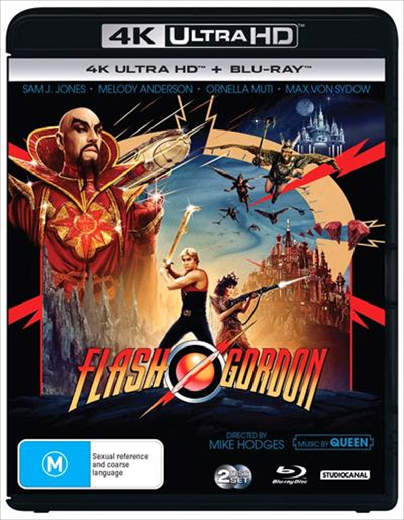Flash Gordon | Blu-ray + UHD - Classics Remastered | UHD