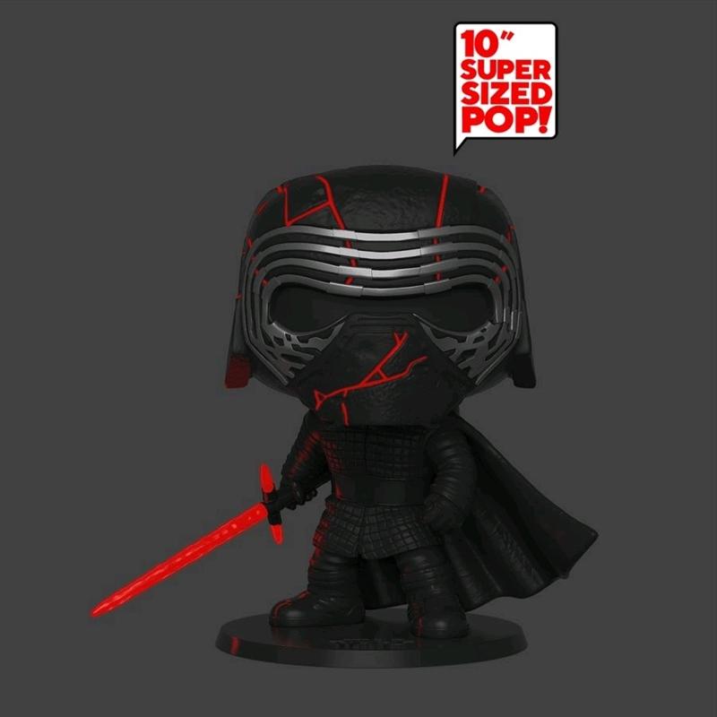"""Star Wars - Kylo Ren Glow Episode IX Rise of Skywalker 10"""" Pop! Vinyl   Pop Vinyl"""
