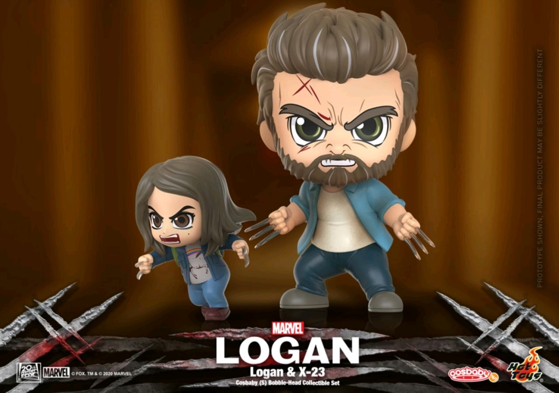 Logan - Logan & X-23 Cosbaby Set   Merchandise