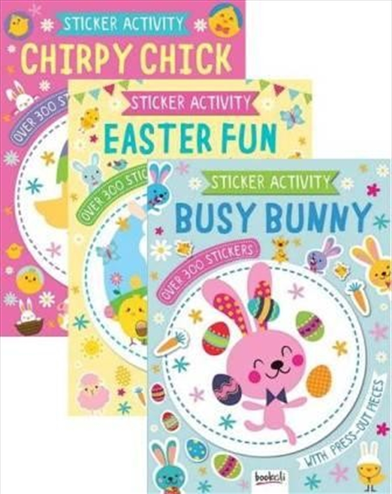 Easter Sticker And Activity Assorted   Books